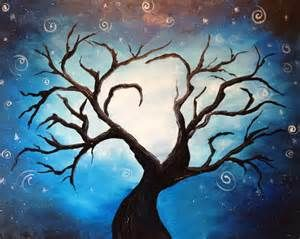 spooky tree drawing - Bing images