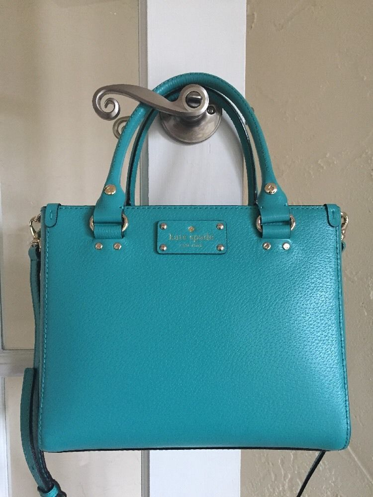 Kate Spade Wellesley Small Quinn Fremont Turquoise WKRU2723  e14af873eb302