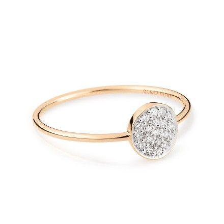 Ginette NY Diamond Wise 18-karat rose gold ring yOTO5
