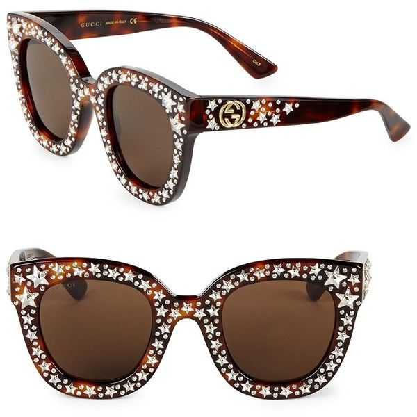 872a0b11e4023 Gucci 49MM Star-Studded Sunglasses ( 1