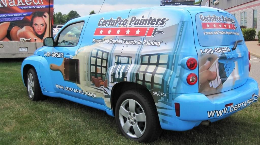Certapro Painters Hhr Vehicle Graphics Full Wrap Car Wrap Hhr Graphics Hhr Wrap Indianapolis Dontdrivenaked Car Graphics Vehicles Chevy Hhr