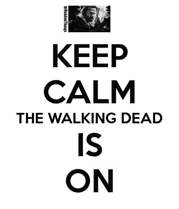 #TheWalkingDead #twd #amc keep calm...i cant keep calm damnnnn
