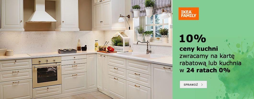 Ikea 10 Ceny Kuchni Organizacja Domu Kitchen Cabinets Home
