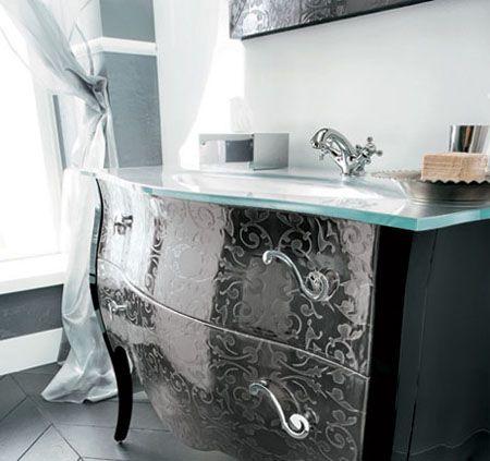 Vanité  Maison  Pinterest  Glamorous Bathroom Vanities And Fair Bathroom Vanities Luxury Design Decoration