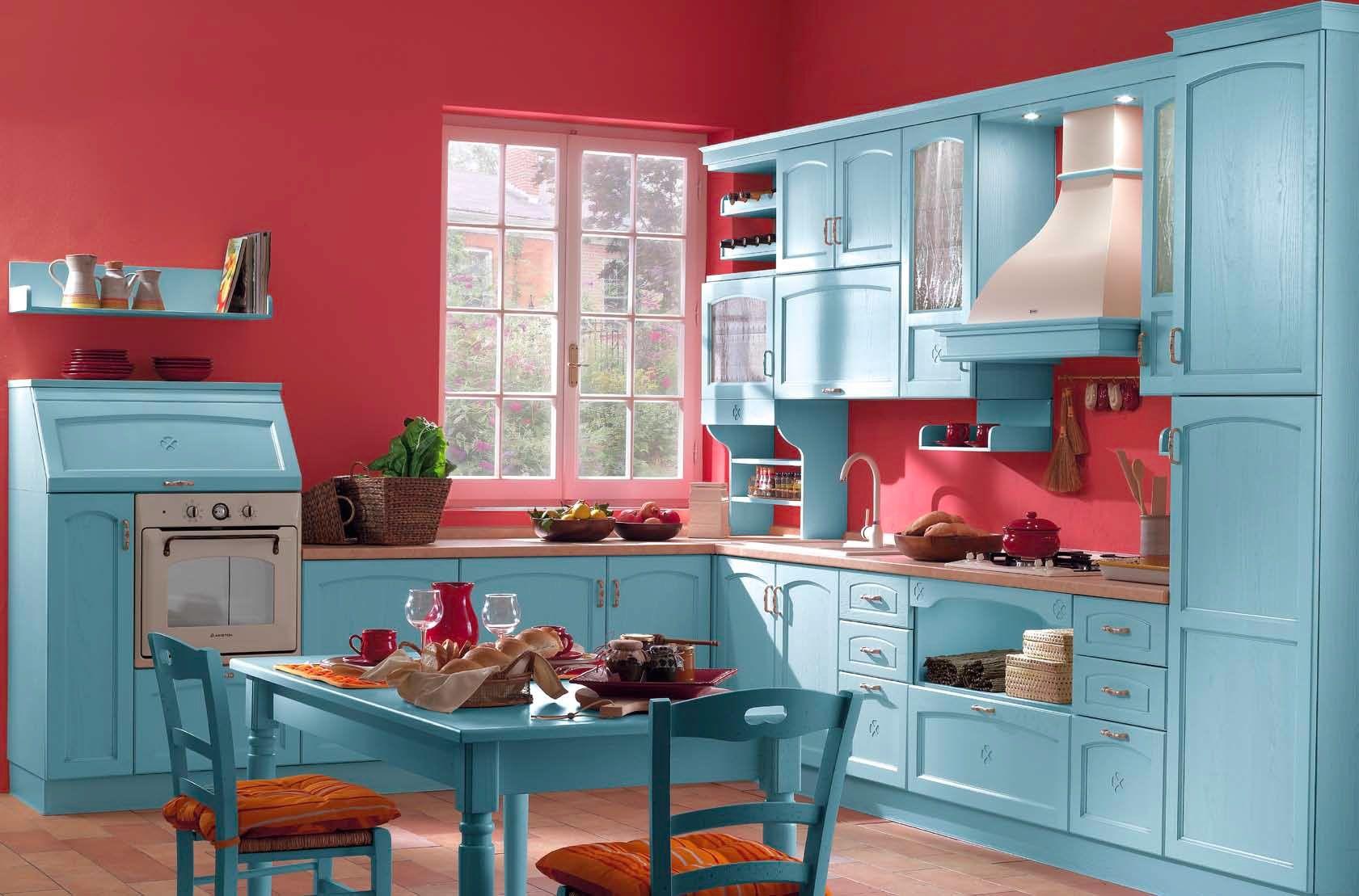 Cucine Moderne Azzurre.Cucine Azzurre Cucine Nel 2019 Cucine E Ambiente