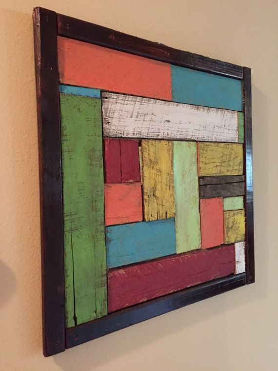 Custom Painted Abstract Pallet Art Products In 2019