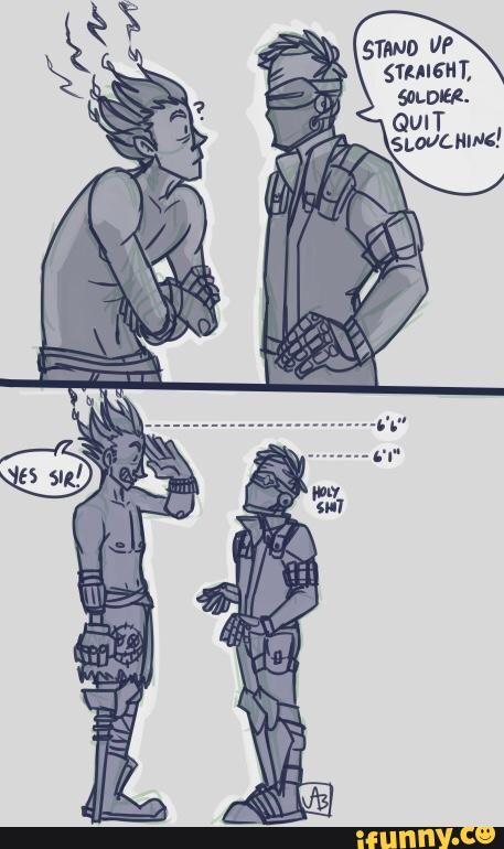 overwatch, soldier76, junkrat | VID VID GAMES | Overwatch comic