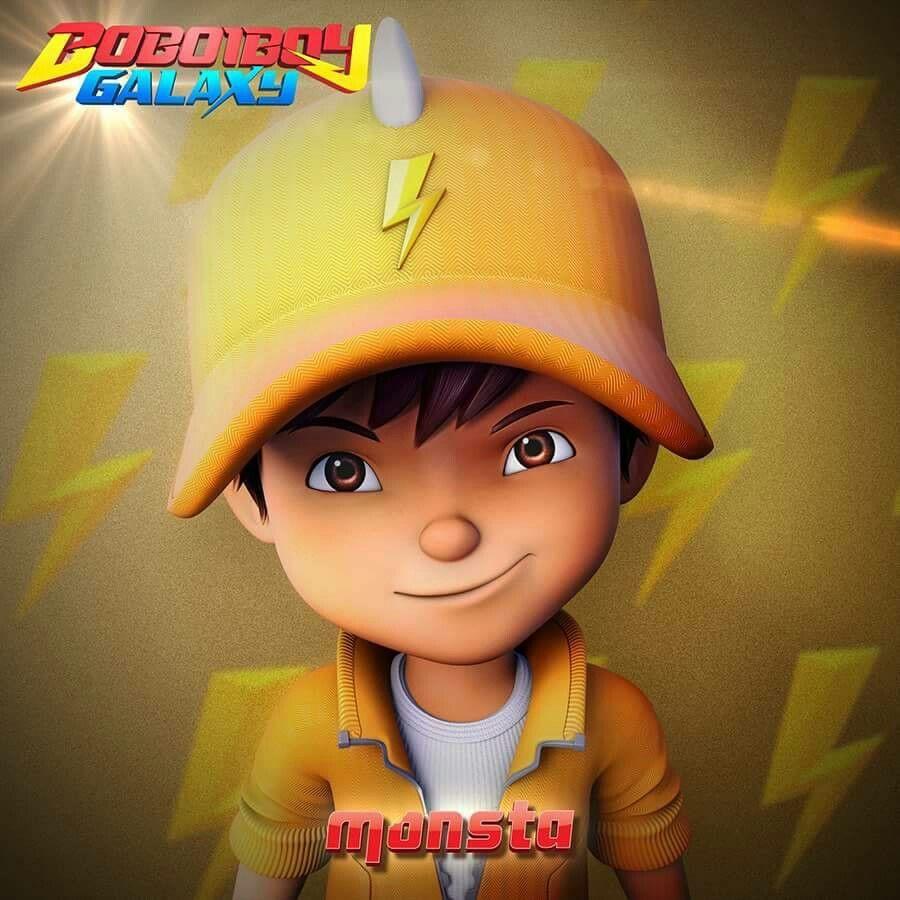 Boboiboy Lightning Kartun Ilustrasi Karakter Film Petualangan