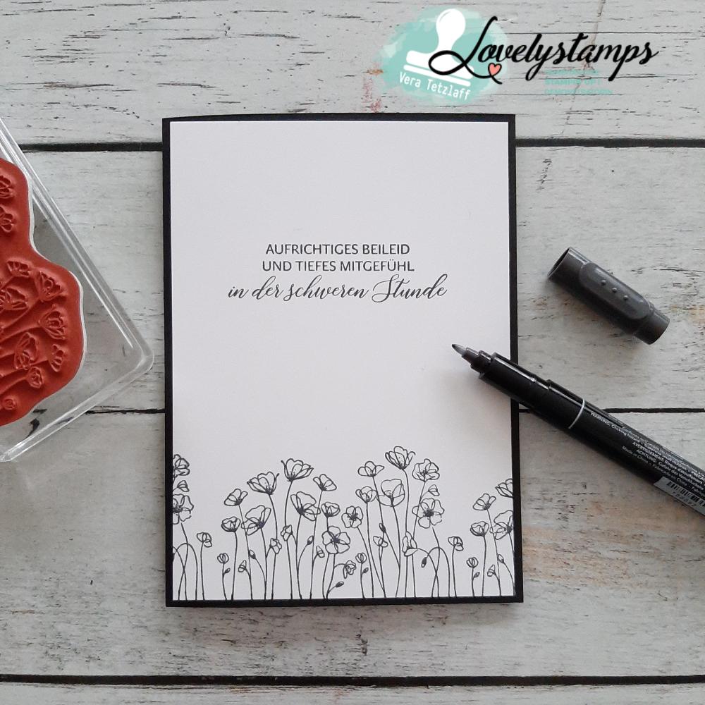 24+ Blog Hop zu Painted Poppies   Lovelystamps   Vera Tetzlaff