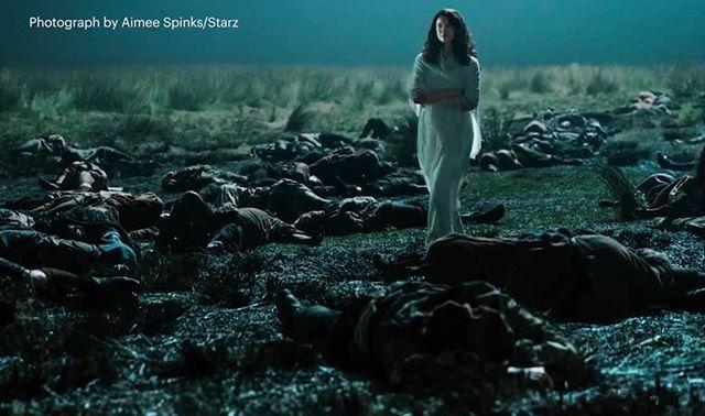 Imagen de Entertainment Weekly  Dios que triste, será un sueño de Claire? 😭💔 #ClaireFraser #Outlander  #OutlanderSeason3