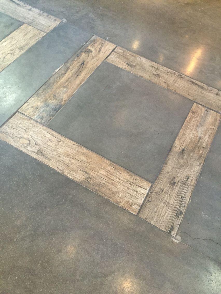 Cement Floor Tile Inlay Piso De Cimento Piso Cimento Queimado Pisos Rusticos