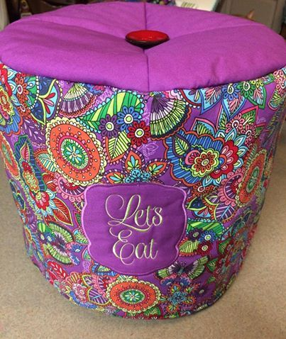 Https Www Etsy Com Listing 532266763 6qt Instant Pot Cover Purple Floral Ref Shop Home Active 14 Instant Pot Fabric Covered Fabric Crafts