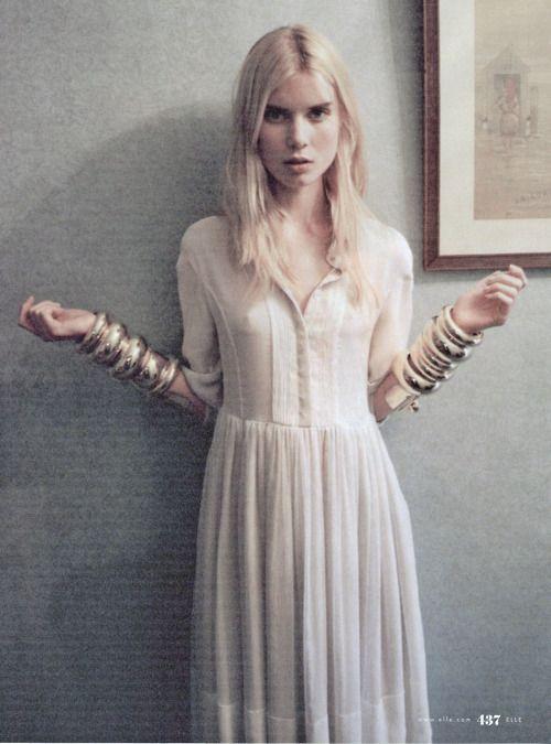 2 - Elsa Sylvan in 'Age of Enlightenment' by Lina Scheynius for Elle September 2009