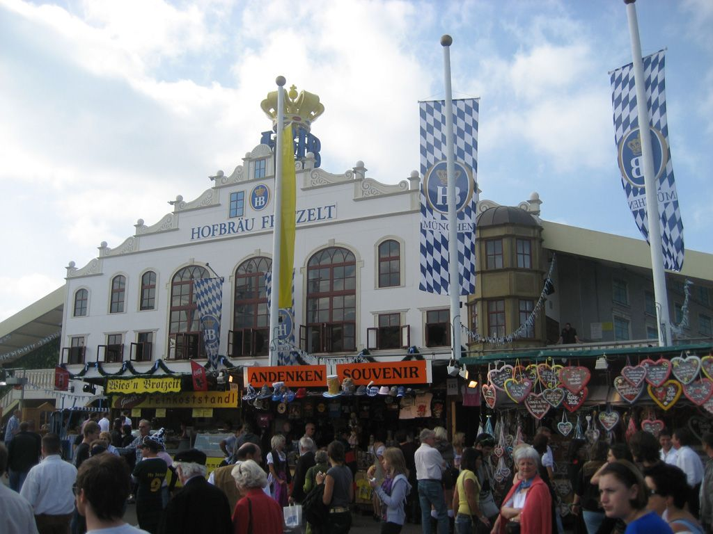 A huge number of Oktoberfest visitors like to go to the Hofbräu-Festzelt  the biggest beer tent at Oktoberfest where thereu0027s a ton of things going on.  sc 1 st  Pinterest : hb tent oktoberfest - memphite.com