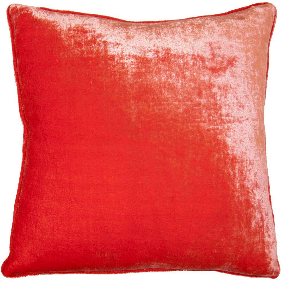 Squarefeathers - Vintage Velvet Orange pillow  Shop: http://bit.ly/SF_VV_Orange