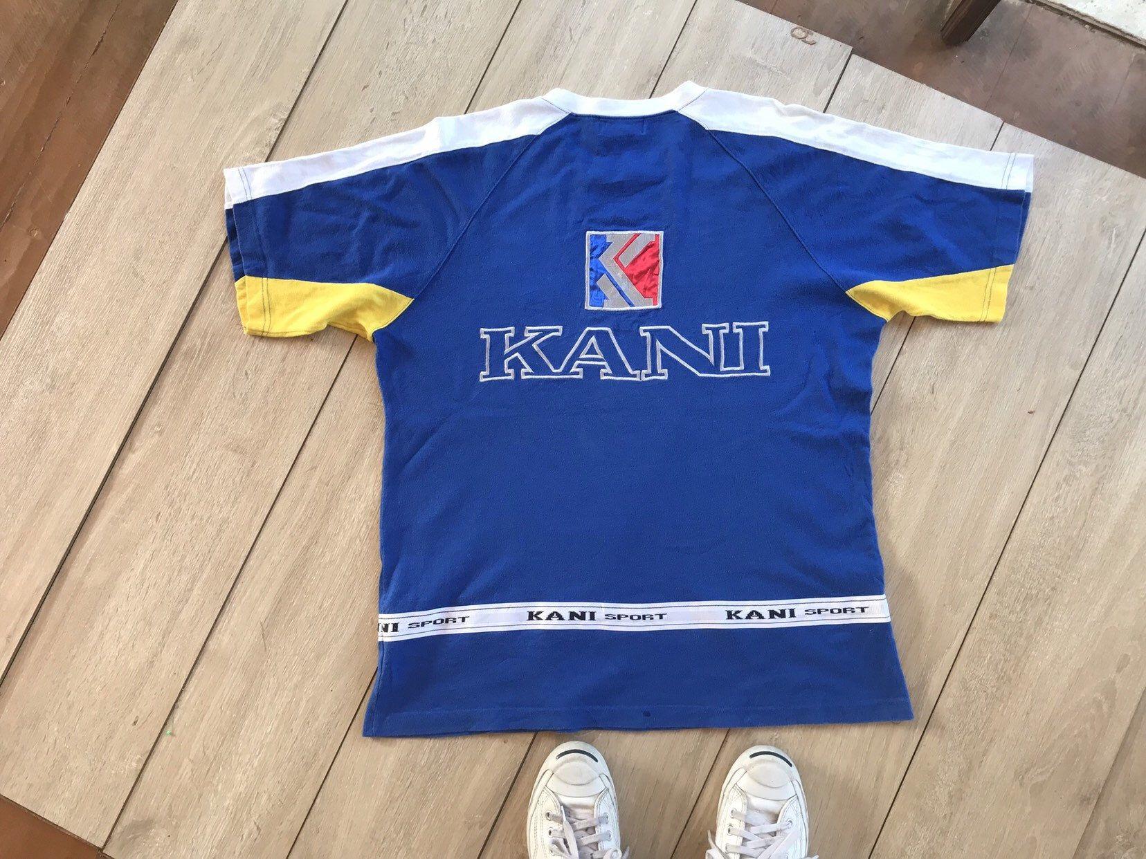 Kani Sport Sportswear Blue T Shirt Unisex Clothing Size F Unisex Clothing Shirts T Shirt