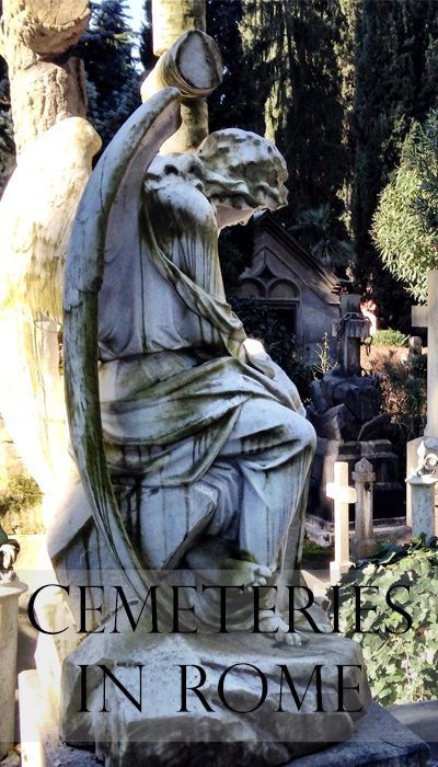 My favorite cemeteries in Rome    Read my blogpost here: http://www.blocal-travel.com/cemetery/cemeteries-in-rome/