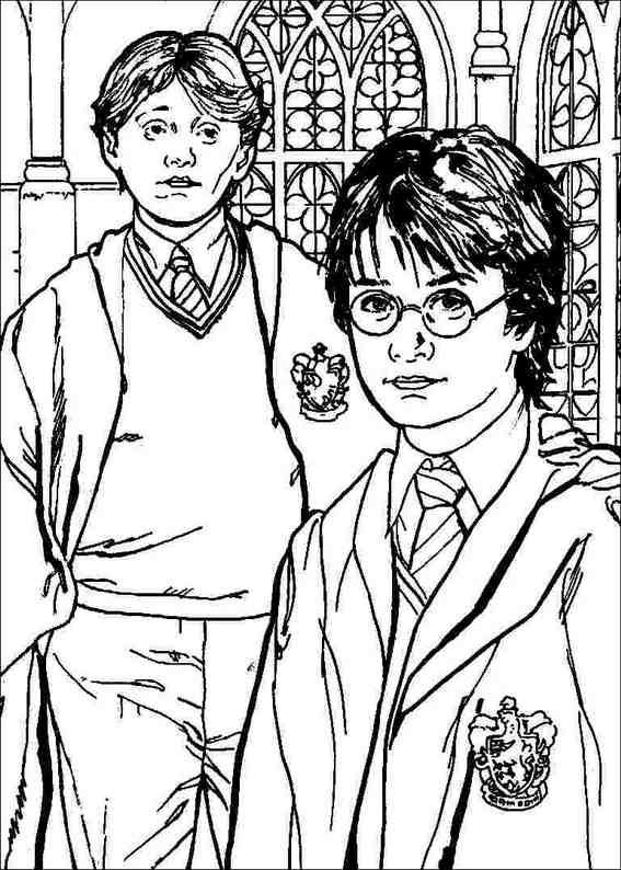 Harry Potter 073 Coloring Page