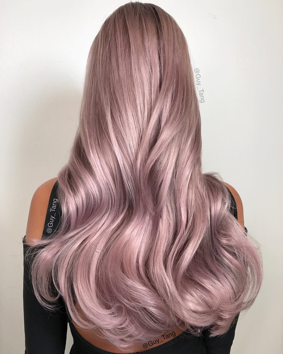 Guy Tang On Instagram Hairbesties This Is Mauve Metallic Using Silver Violet Bronze Metallics In The Kenraprofessional Line And New You