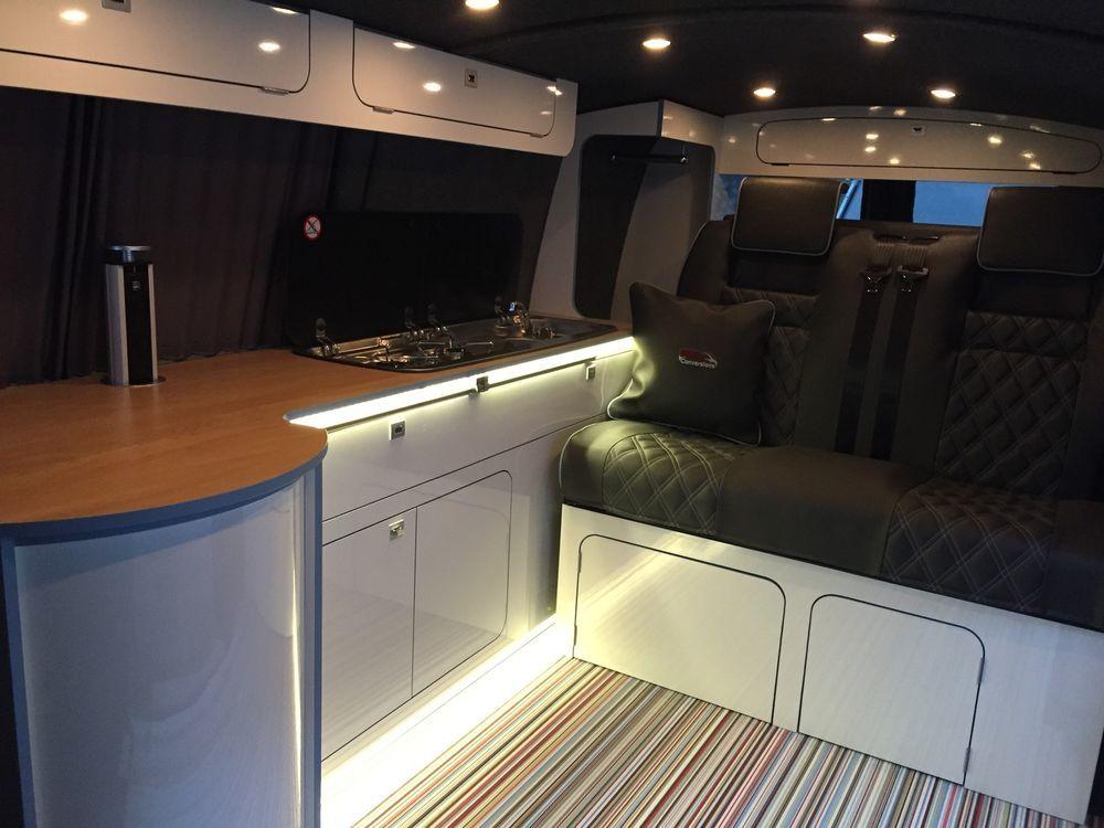 Camper campervan conversion furniture units swb vw t5 t4 for Vw t4 interior designs