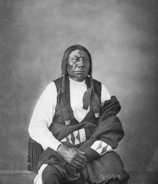 Blue Horse, Sunkawakan To, Oglala, 1821-1909