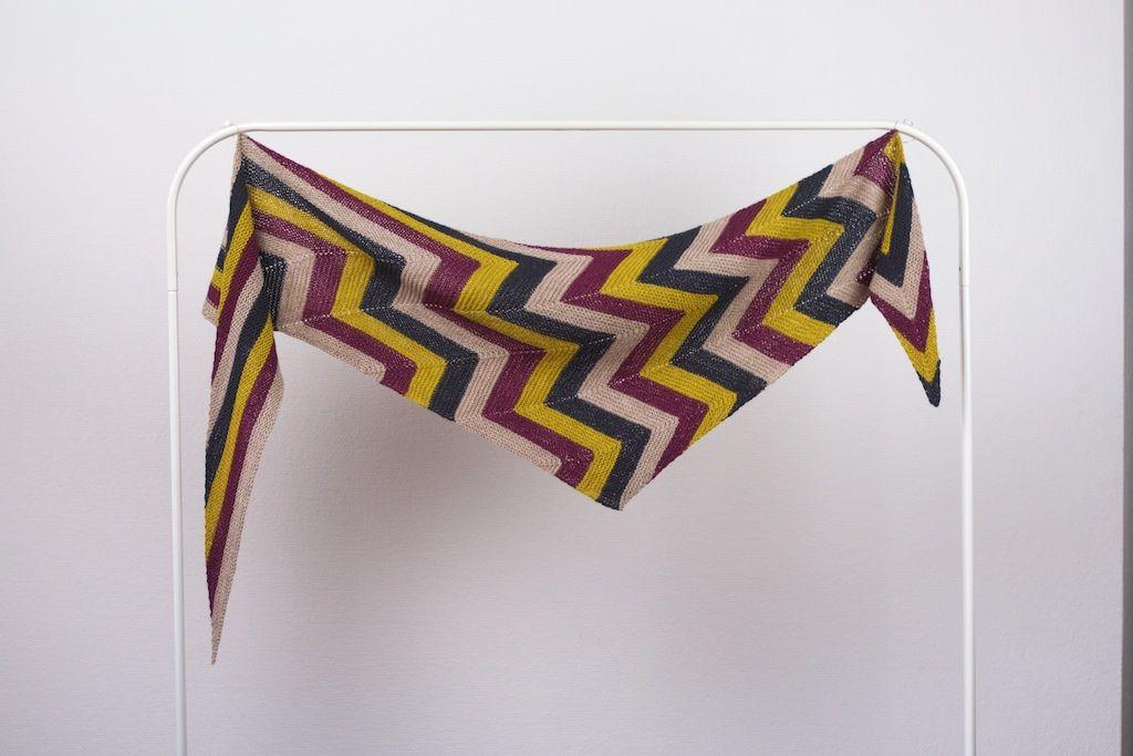 Rockin\' Rows pattern by Martina Behm   Gestricktes tuch ...