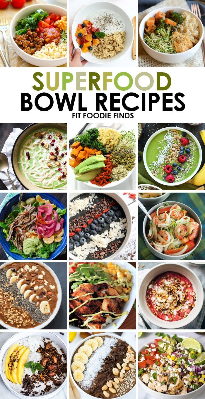 Need healthy recipe inspiration check out these 15 superfood bowl need healthy recipe inspiration check out these 15 superfood bowl recipes for different meal combinations for breakfast lunch and dinner forumfinder Choice Image