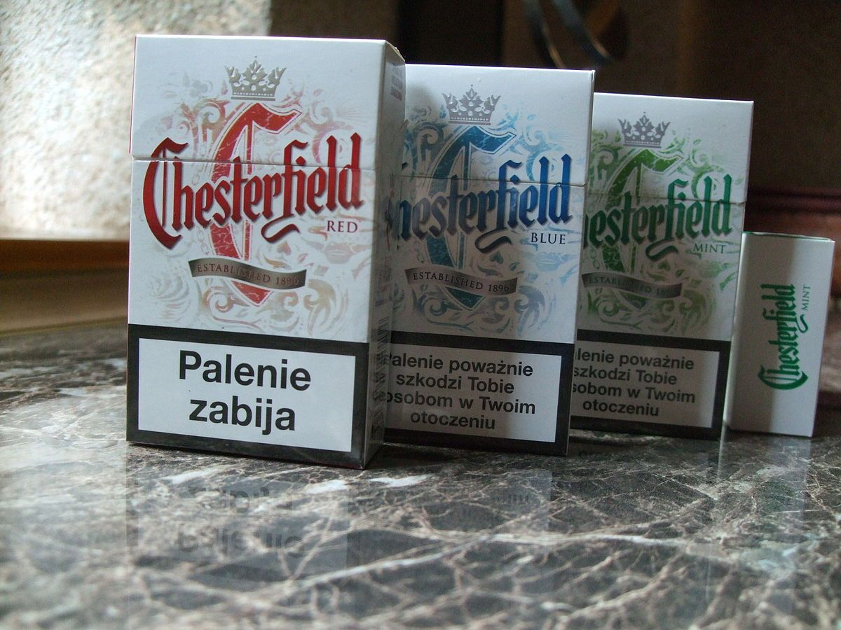 Cigarettes Winston name change