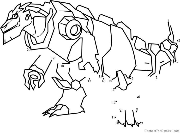 Grimlock Disguised From Transformers Dot To Dot