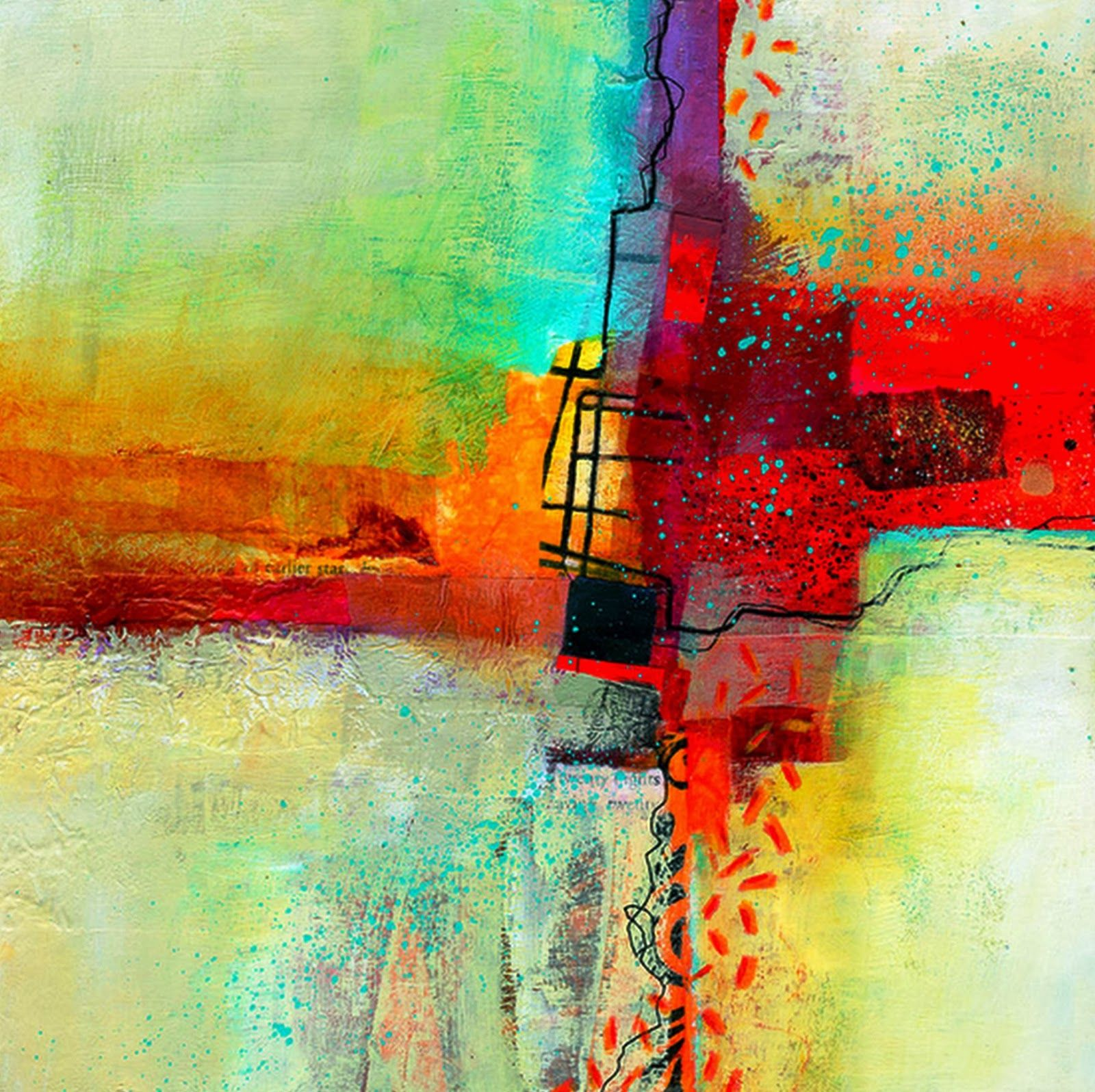 Resultado De Imagen Para Pinturas Del Arte Abstracto Y Sus Autores