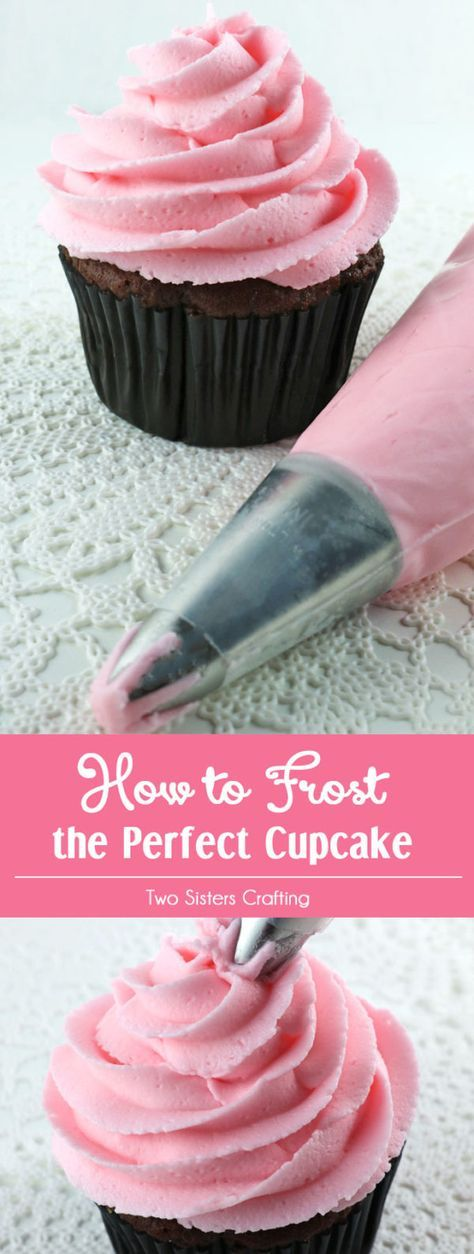 How to Frost the Perfect Cupcake #cupcakefrostingtips