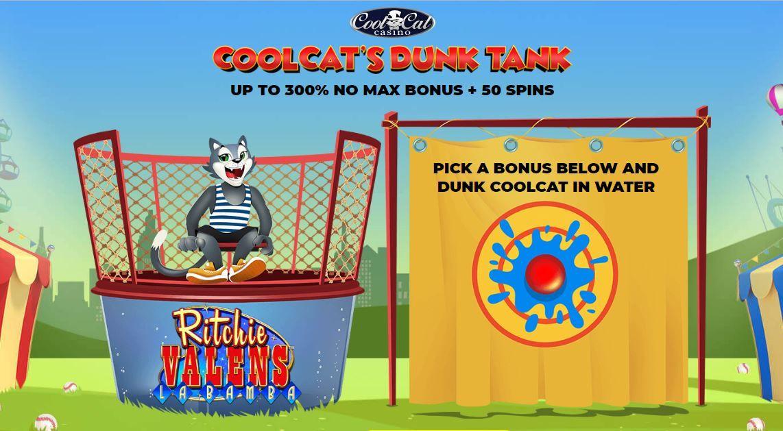Exclusive Cool Cat casino bonus codes