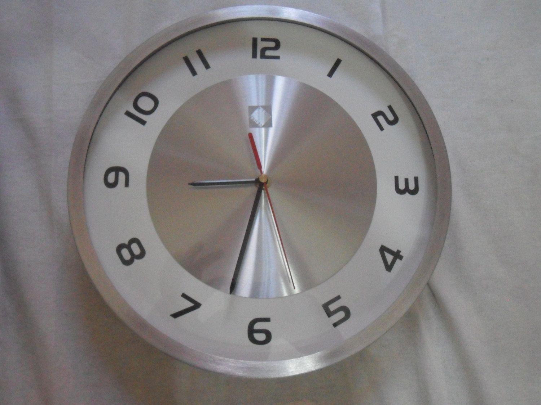 Orologio da Parete VICEVERSA Ø 30 cm. colore Argento Orologio da Parete con meccanismo a quarzo di affaryonline su Etsy