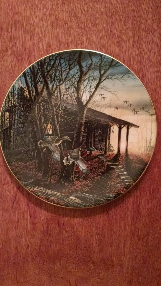 Morning Retreat  Terry Redlin Limited Edition collector plate in Collectibles Decorative Collectibles & Morning Retreat