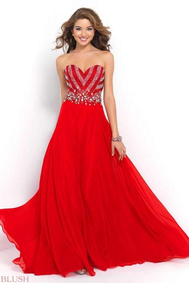 Elegant Valentine Ball Dresses