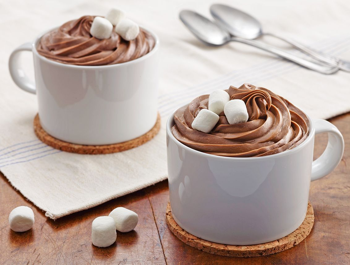 Chocolate Marshmallow Mug Cakes Christmas Pinterest