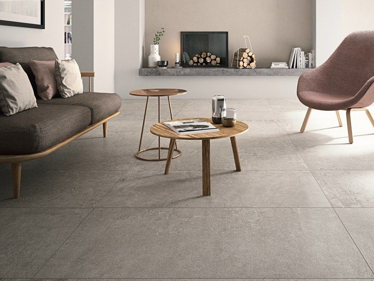 Porcelain Stoneware Floor Tiles With Concrete Effect X Beton By