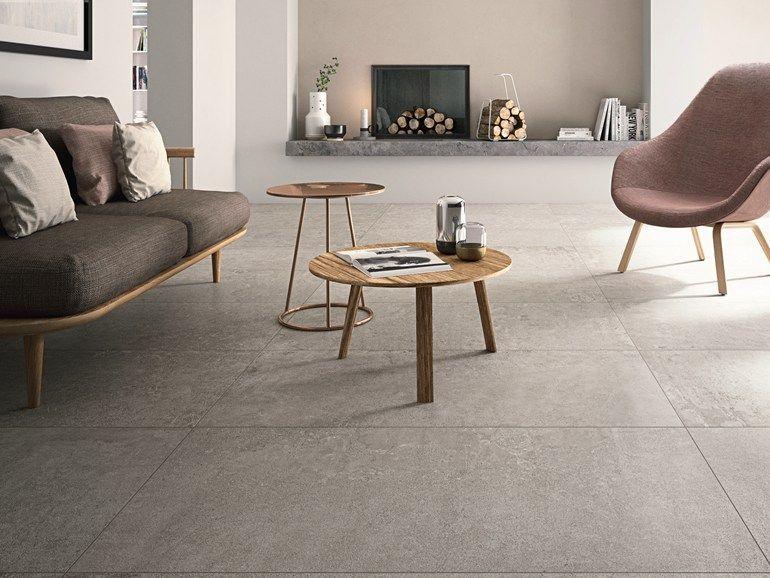 Pavimento in gres porcellanato effetto cemento beton by cotto d