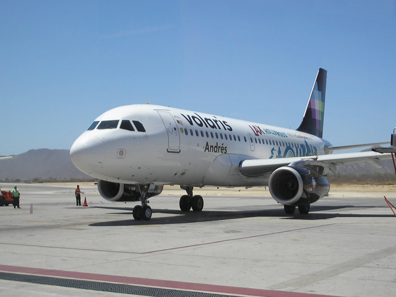 Volaris Airline in Mexico. I took it from Guadalajara to