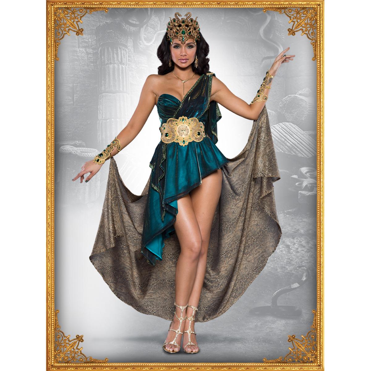Medusa Womens Adult Egyptian Mythological Creature Halloween Mask