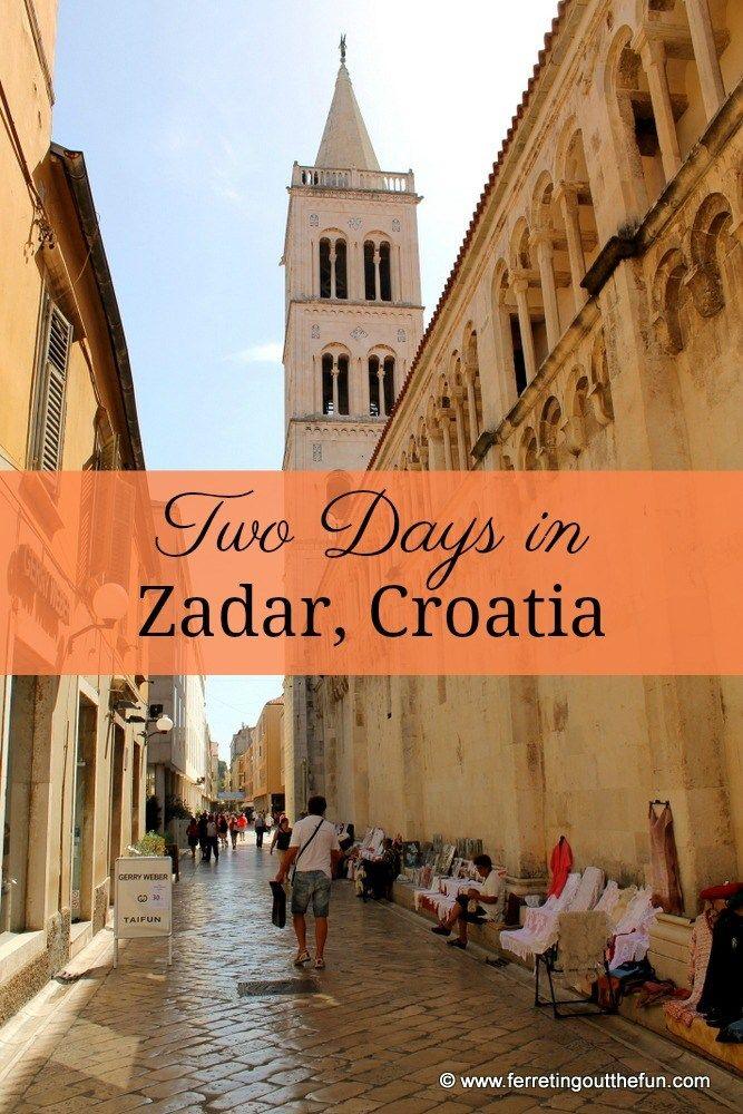 Fun And Interesting Things To Do In Zadar Croatia Europe