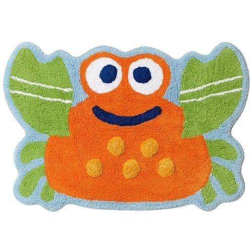 Great Jumping Beans Fish Tales Bath Rug Home Garden Kids Room Mat Bathroom Boys  Accessory Home