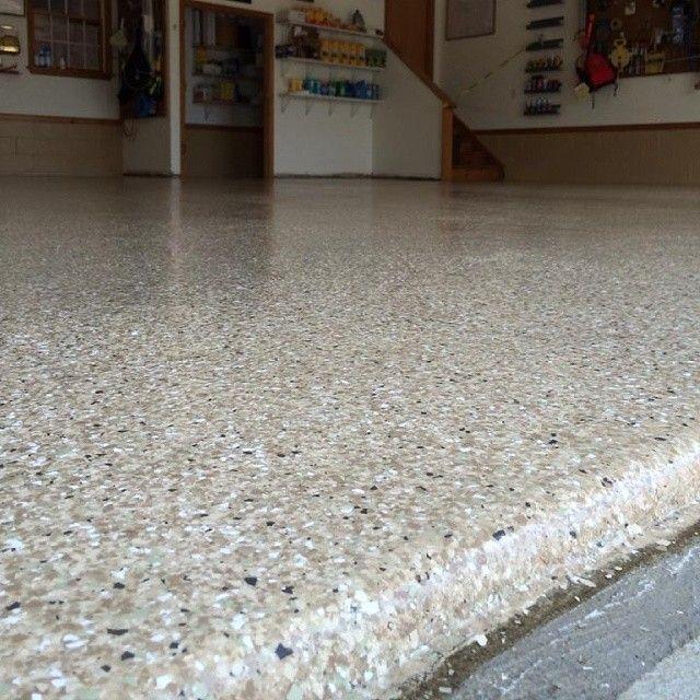 Homepro 3 Car Garage Floor In Sandstone