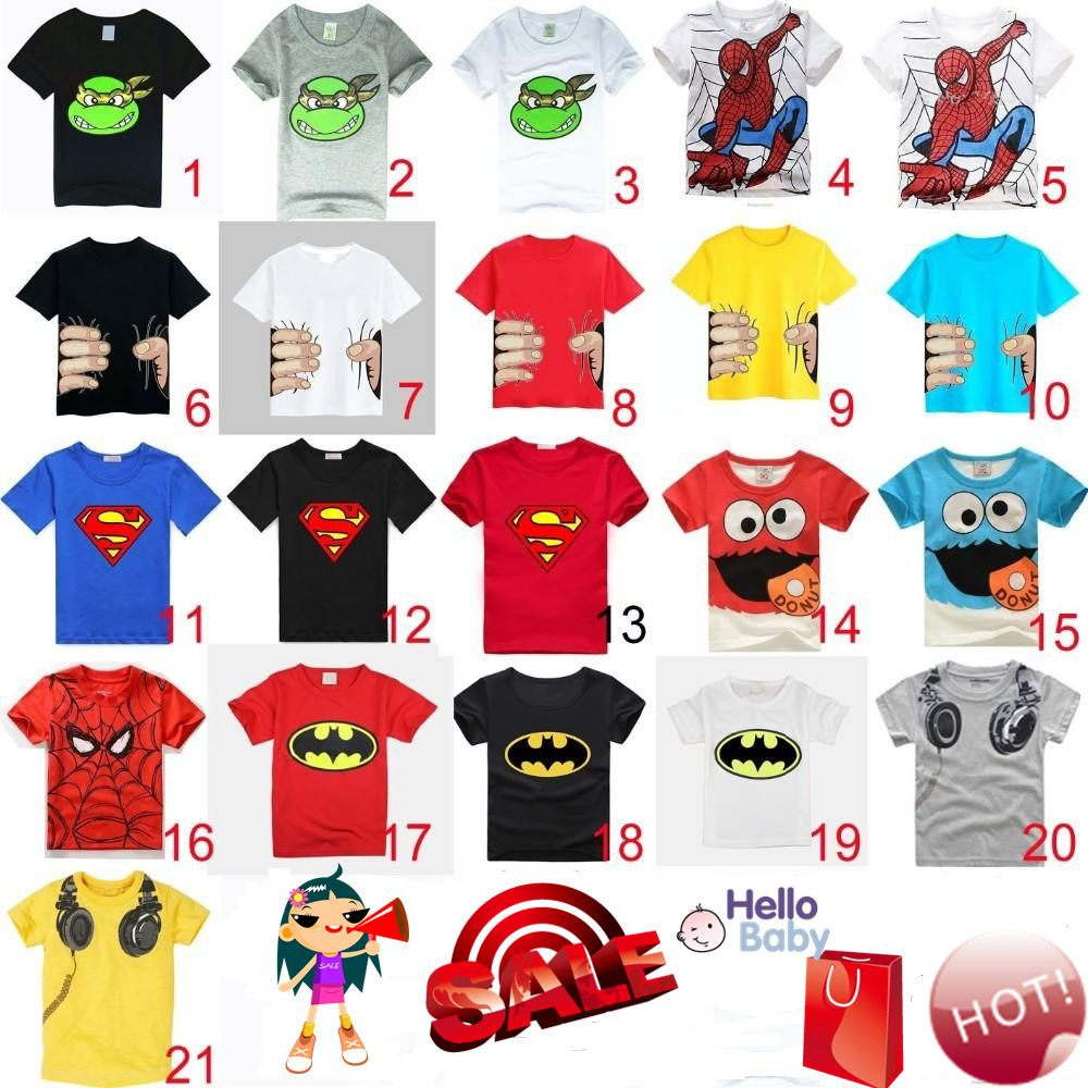 HOT 2017 New Summer Children Clothes Boys Girls Unisex T Shirt Cartoon  Minions Kids Short Sleeve