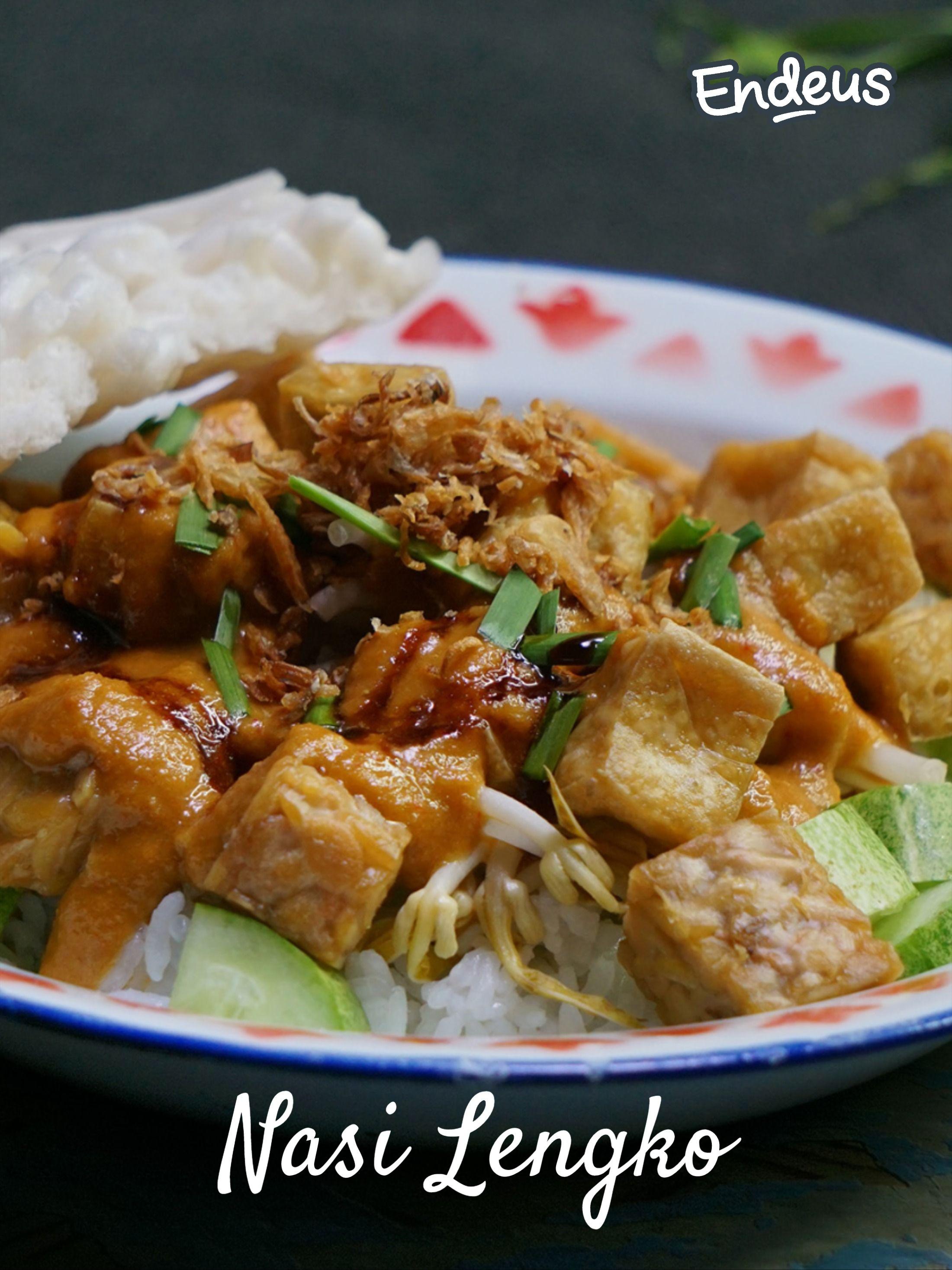 Resep Diendeusin Nasi Lengko Resep Di 2020 Makanan Resep Tempe Resep
