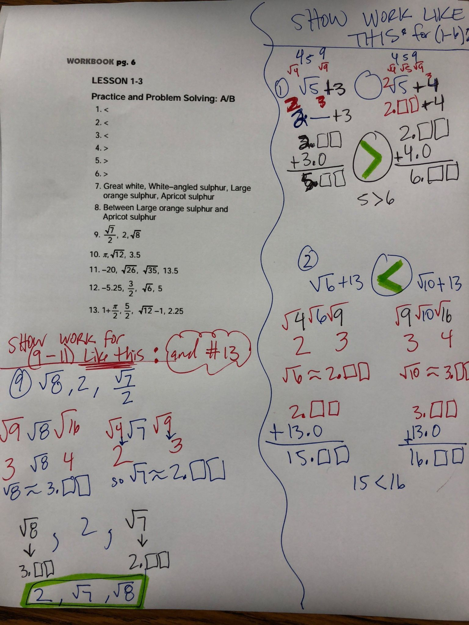 Periodic Graphing Inequalities On A Number Line Worksheet