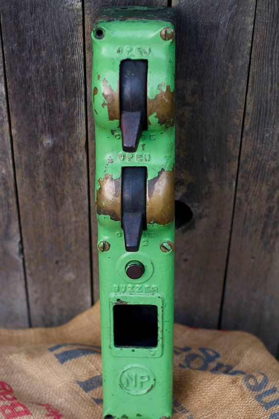 Vintage Industrial Garage Door Opener By Mrcg On Etsy Industrial Garage Door Garage Door Opener Garage Doors