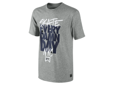 Nike Skate Every Damn Day NYC Men's T-Shirt - $30