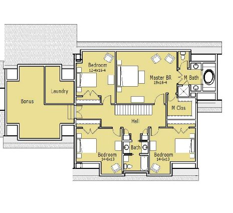 Tonka Dutch Colonial House Plan