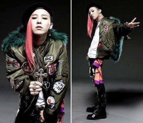 Bigbang Photo Gd S Long Hair G Dragon Fashion G Dragon Fashion